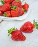ягода детализирует клубнику красного цвета природы Стоковое Фото