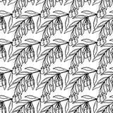 Ягода Goji, безшовное 1 бесплатная иллюстрация