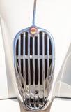 Ягуар 1956 белизны XK 140 MC Стоковая Фотография RF