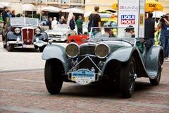 ягуар 1938 ss100 Стоковая Фотография