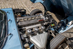 Ягуар E типа 4 2 Стоковая Фотография