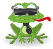 лягушка шаржа Стоковые Изображения RF