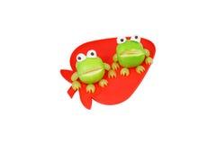 лягушки яблока Стоковые Фото