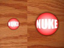 Ядерная кнопка на столе Стоковые Фото