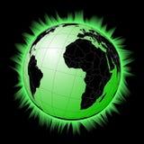 ядерная планета Стоковое Фото