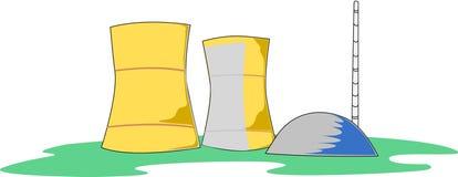 Ядерная установка бесплатная иллюстрация