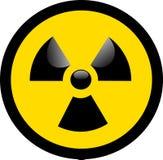 ядерное предупреждение Стоковая Фотография RF