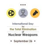 Ядерный день исключения Стоковое Изображение RF