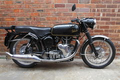 яд velocette мотоцикла Стоковая Фотография RF