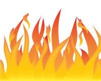 языки пламен иллюстрация вектора