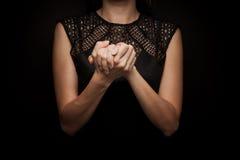 Язык жестов слова стоковые фотографии rf