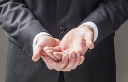 Язык жестов для молить и терпения Стоковое Фото