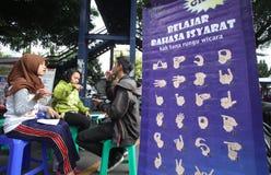 Язык жестов Стоковое фото RF