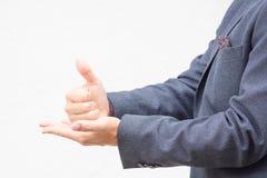 Язык жестов Стоковое Фото