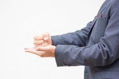Язык жестов Стоковая Фотография RF
