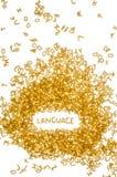 язык Стоковые Фотографии RF