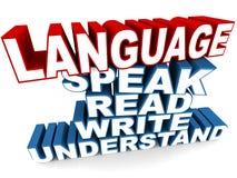 Язык Стоковая Фотография RF