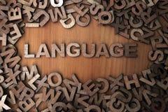 язык стоковое изображение