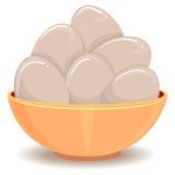Яичка в шаре бесплатная иллюстрация