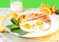 яичка завтрака Стоковое Изображение RF