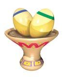 Яичка золота Стоковая Фотография