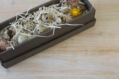 Яичка триперсток в фото коробки Стоковое Фото