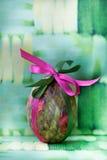 Яичко вод-цвета пасхи Стоковые Фото