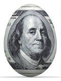 яичко кредитки 10 долларов. Стоковая Фотография RF