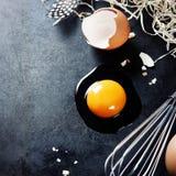 яичко сырцовое Стоковая Фотография RF