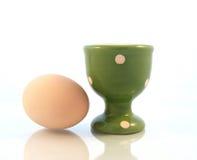 яичко чашки стоковая фотография rf