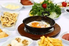 Яичницы и завтрак Стоковое Изображение RF
