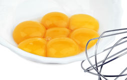 Яичные желтки Стоковые Изображения RF