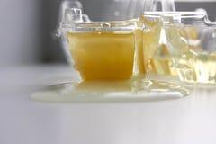 Яичный желток Фото для вашего дизайна яичко сырцовое Стоковая Фотография RF