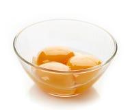 Яичный желток стоковые фото