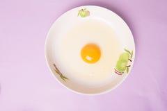 Яичный желток стоковая фотография
