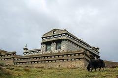 Яки и дом Стоковые Фото