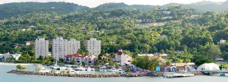 ямайский курорт стоковая фотография