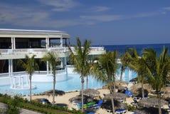 ямайский курорт Стоковые Фото