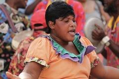 Ямайский уличный исполнитель Стоковое Изображение RF