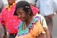 Ямайский уличный исполнитель стоковые изображения