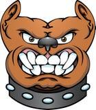 яма головки собаки быка иллюстрация вектора
