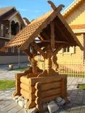 яма двора Стоковая Фотография