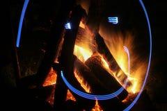 Яма огня Стоковая Фотография