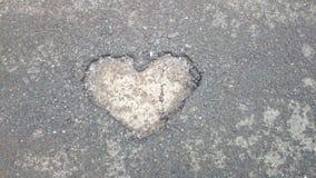 Яма сердца Стоковое фото RF