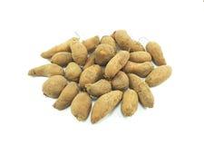 Ям и картошка Стоковая Фотография RF