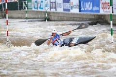 Январь Vondra - чемпионат мира слалома воды Стоковое фото RF