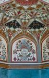 янтарная декоративная стена форта Стоковые Изображения RF