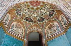 янтарная стена форта украшения Стоковое Изображение
