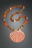 янтарное ожерелье Стоковые Фото
