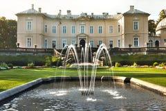 янтарное palanga музея Стоковое Фото